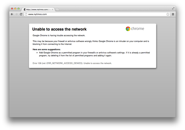 how to allow firewall google chrome